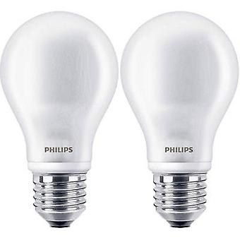 LED E27 Arbitrary 4.5 W = 40 W Warm white (Ø x L) 61 mm x 110 mm EEC: A+ Philips Lighting Filament 2 pc(s)