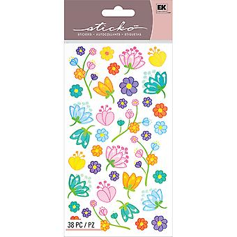 Sticko Stickers-Floral Jubilee E5200097
