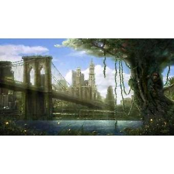 New York Jungle Poster Print by Jose Luis Martin