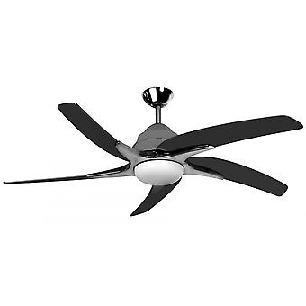 Ceiling fan Viper Plus Pewter with lighting 137 cm / 54