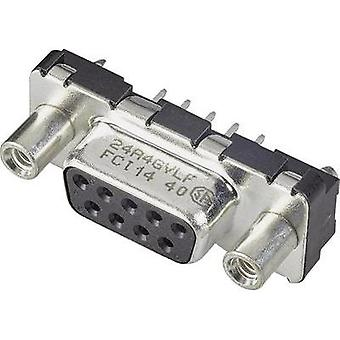 D-SUB receptacles 90 ° Number of pins: 15 Print FCI 1 pc(s)