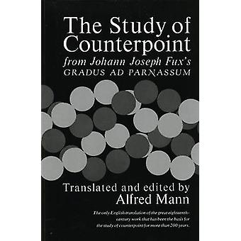 Study of Counterpoint by J J Fux