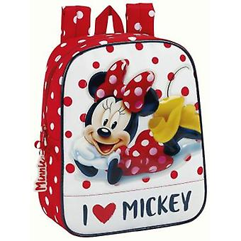 Safta Mochila Guarderia Adaptable Carro Minnie Mouse (Speelgoed , Schoolzone , Rugzakken)