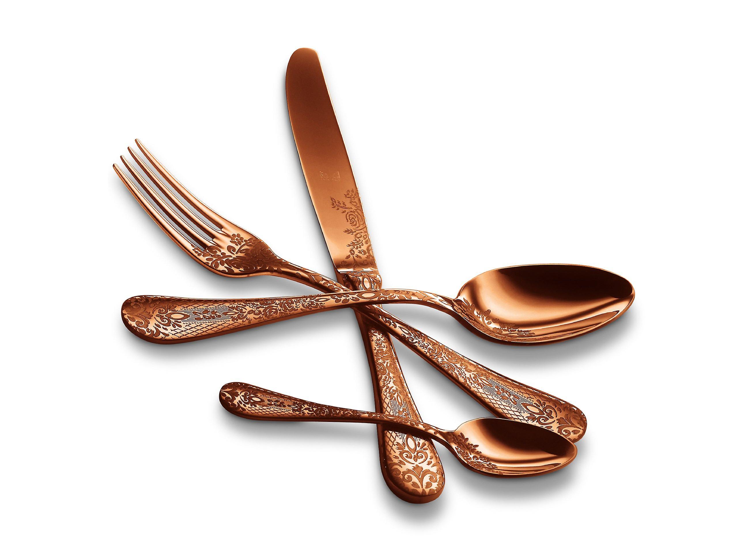Mepra Casablanca Bronzo 5 pcs flatware set