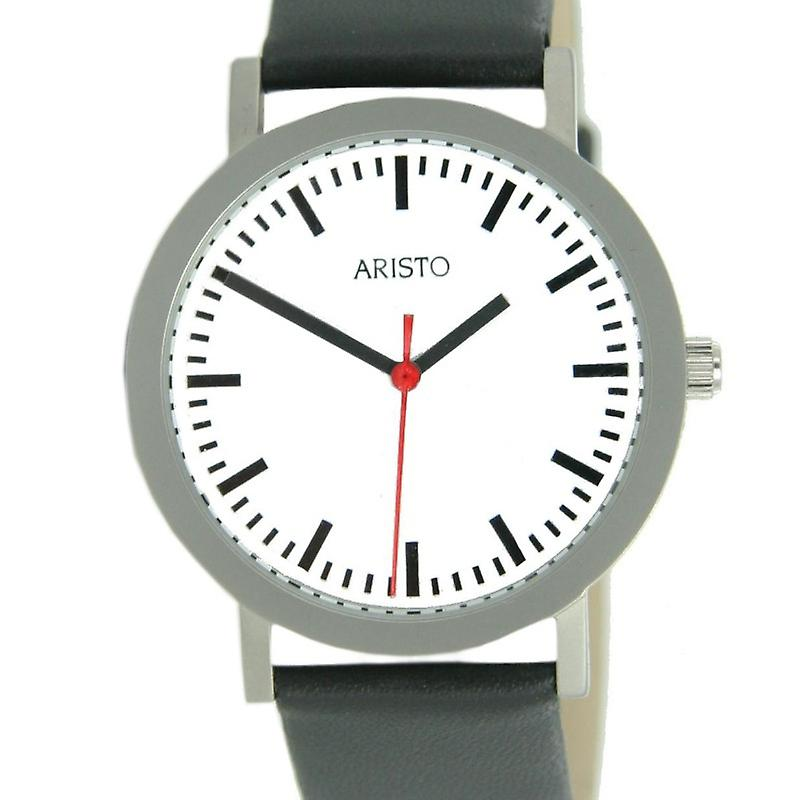 Aristo ladies watch stainless steel train station 3D03