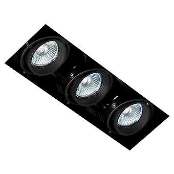 Faro Bcn Falcon Without Frame 3L Qrcb51 Black (Home , Lighting , Downlights)