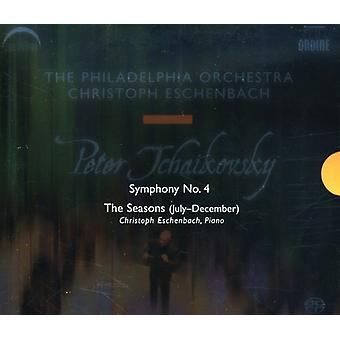 P.I. Tchaikovsky - Tchaikovsky: Symphony No. 4; the Seasons [SACD] USA import