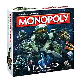 Winning Moves Halo Monopoly Family Board Game for Ages 8 above