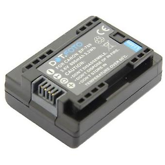 Dot.Foto Canon BP-709 Replacement Battery - 3.6v / 895mAh