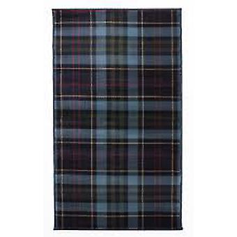 Blå Highland Tartan matta Inverness
