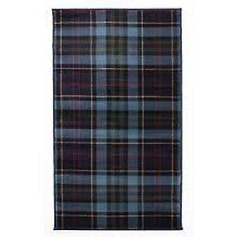 Blue Highland Tartan Rug Inverness