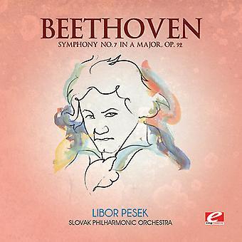 Larsen Beethoven - Beethoven: Symfoni nr. 7 i en dur, Op. 92 [CD] USA import