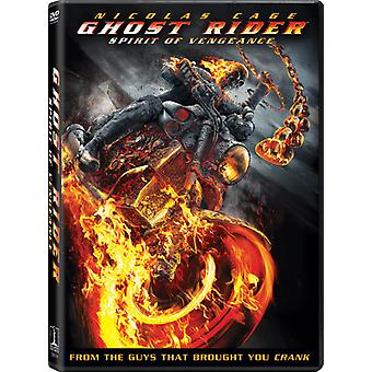 Ghost Rider Spirit of Vengeance [DVD] USA import