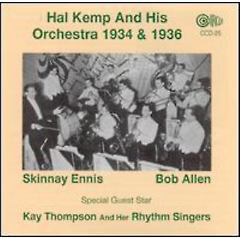 Hal Kemp - Hal Kemp & hans orkester 1934-36 [CD] USA import