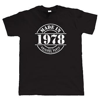 Vectorbomb, в 1978 году Mens смешно T рубашка (S до 5XL)