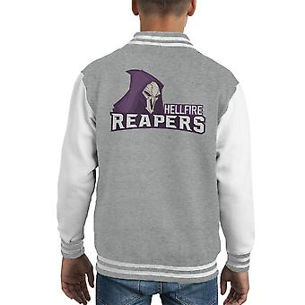 Hellfire Reapers Overwatch Kid's Varsity Jacket