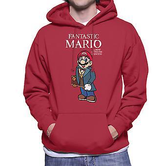 Fantastiske dyr Mario mænds hættetrøje