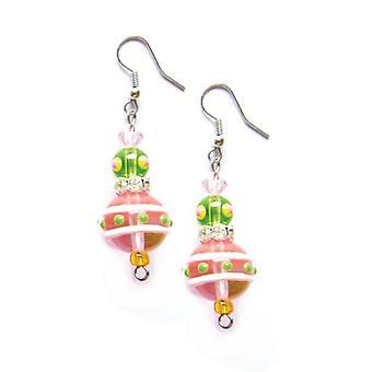 Amor flamenco Tropical Rhinestone cristal cuentas pendientes de Macy ' s y Kate