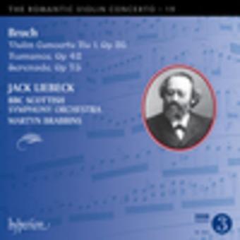 Bruch, M. / Lieback, Jack / Brabbins, Martyn - romantisk Violin Concerto 19 [CD] USA import