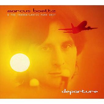 Marcus Boeltz & de transatlantische eenheid van de Funk - vertrek [CD] USA import