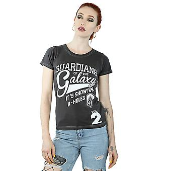 Aftershow Women's Guardians Of The Galaxy A-Holes T-Shirt