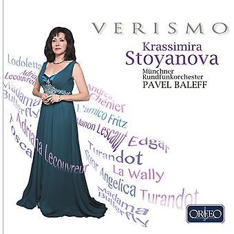 Giuseppe / Krassimira - Verismo - Krassimira Stoyanova [CD] USA import