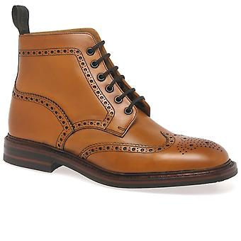Loake Burford Dainite Mens Formal Lace Up Boots