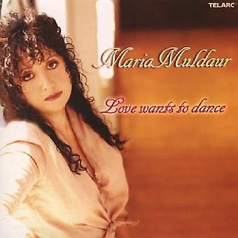 Maria Muldaur - Love Wants to Dance [CD] USA import