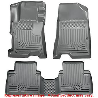 Husky Liners 98852 Grey WeatherBeater Front & 2nd Seat  FITS:HYUNDAI 2011 - 201