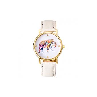 The Fashion Bible White Elephant Watch