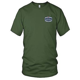 US Coast Guard USCG - USCG vrouw van een Vietnam veteraan geborduurd Patch - Mens T Shirt