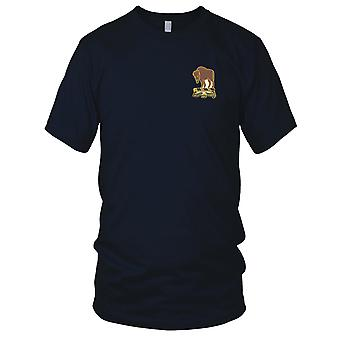 US Army - 10th Cavalry Regiment Embroidered Patch - Ladies T Shirt