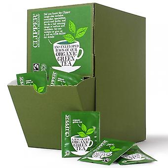 Clipper, Fairtrade Organic Green Tea Envelopes, 250 bags