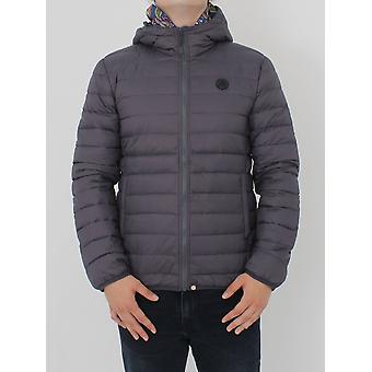Pretty Green Barker Quilted Jacket - Grey