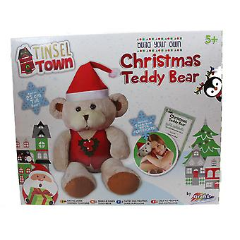 Grafix Tinsel Town Build Your Own Christmas Teddy Bear Festive Activity