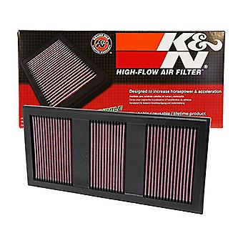 K&N 33-2985 High Performance Replacement Air Filter