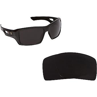 Eyepatch 2 Replacement Lenses Advanced Black by SEEK fits OAKLEY Sunglasses