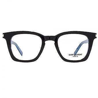 Saint Laurent SL 139 Slim Glasses In Black