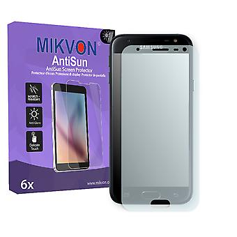 Samsung Galaxy J3 (2017) Screen Protector - Mikvon AntiSun (Retail Package with accessories) (intentionally smaller than the display due to its curved surface)