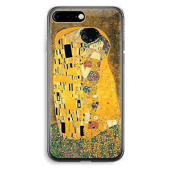 iPhone 7 Plus custodia trasparente (Soft) - Der Kuss