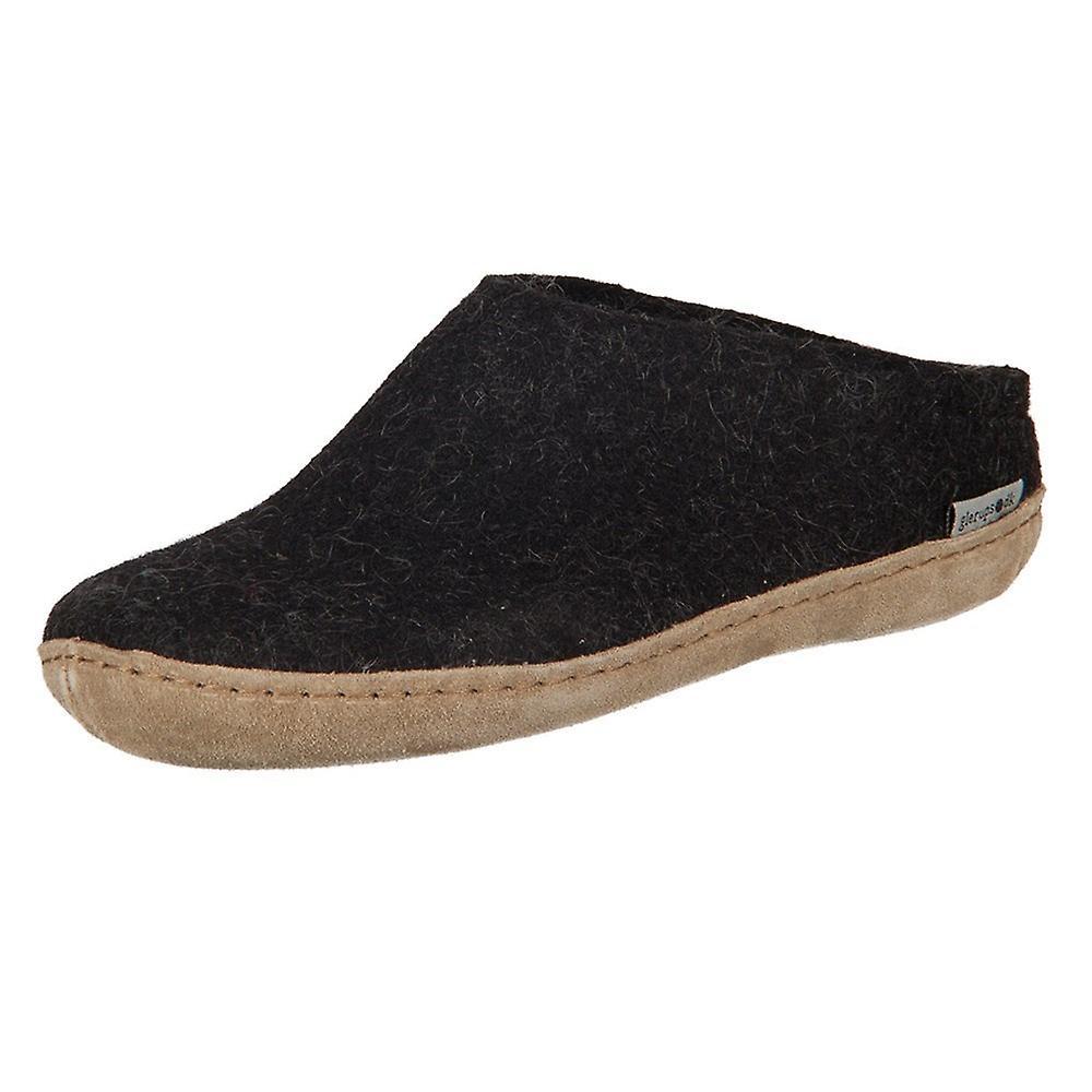 Glerups DK carbone Lammwollfilz B0200 a casa uomini scarpe