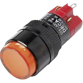 DECA D16LAR1-1abGO Pushbutton switch 250 V AC 5 A 1 x Off/On IP40 latch 1 pc(s)
