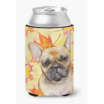 Carolines Treasures  BB9949CC French Bulldog Fall Can or Bottle Hugger
