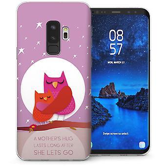 Samsung Galaxy S9 Plus mors kärlek TPU Gel Case – lila