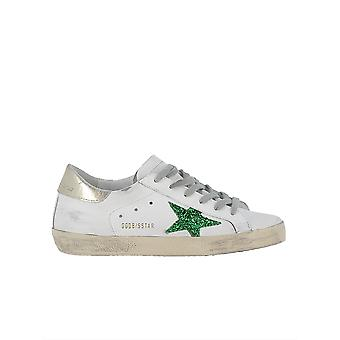 Golden Goose women's G32WS590G64 White leather of sneakers