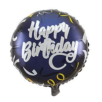 Folie ballong av fødselsdagen bursdag Merkedag ca 45 cm