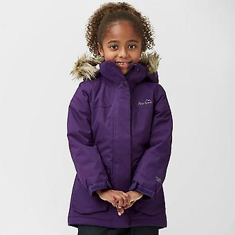 New Peter Storm Girl's Poppy Waterproof Parka Purple
