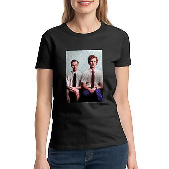 Napoleon Dynamite Brothers Women's Black Funny T-shirt