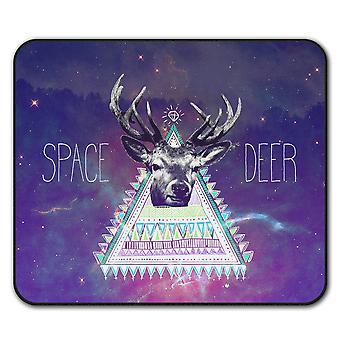 Triangle Deer  Non-Slip Mouse Mat Pad 24cm x 20cm | Wellcoda