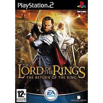 The Lord of the Rings The Return of the King (PS2) - Factory Sealed